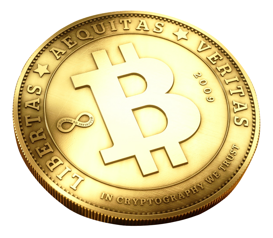 Cryptocurrency Bitcoin Free Frame PNG Image