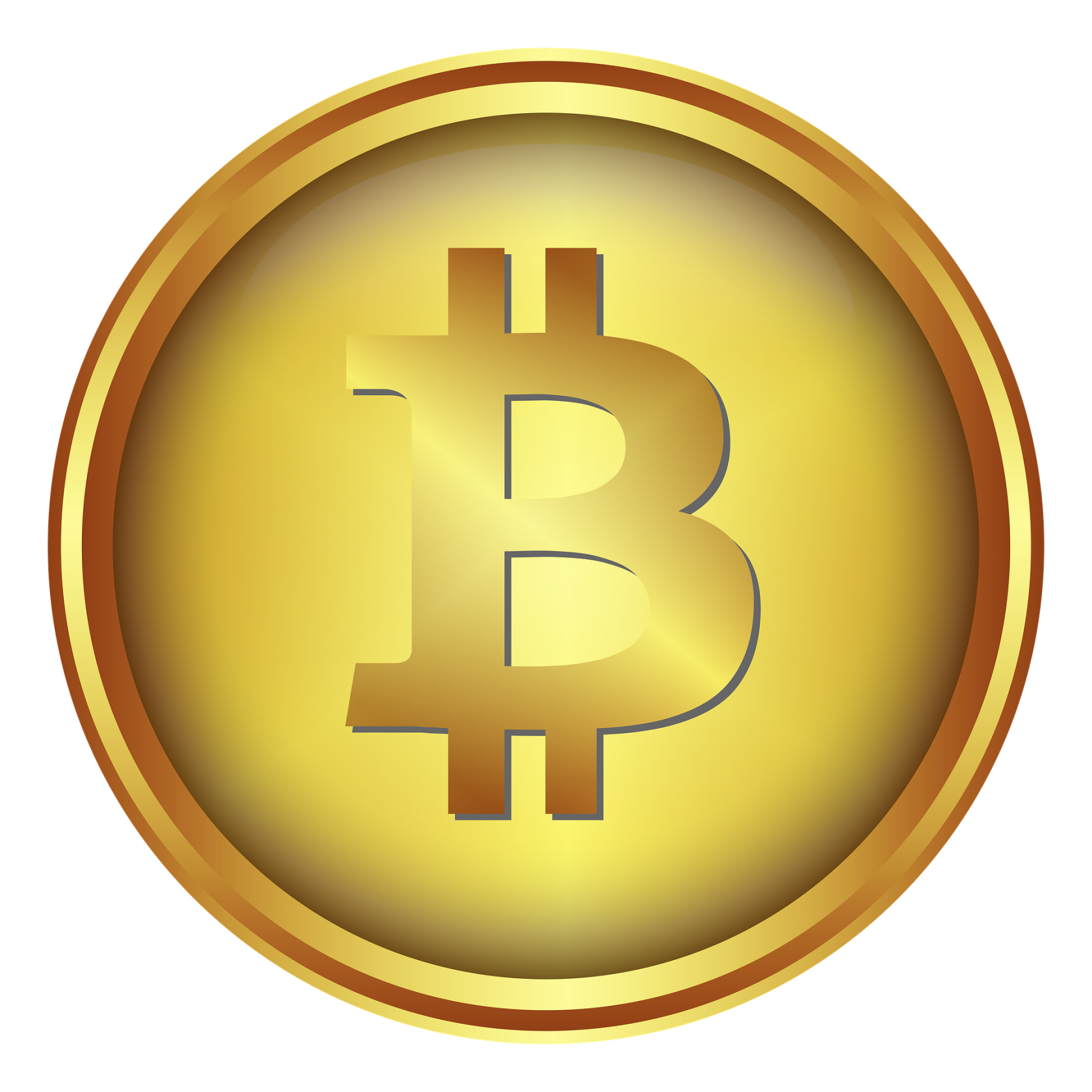 Gold Exchange Blockchain Bitcoin Cryptocurrency Lakshmi Coin PNG Image