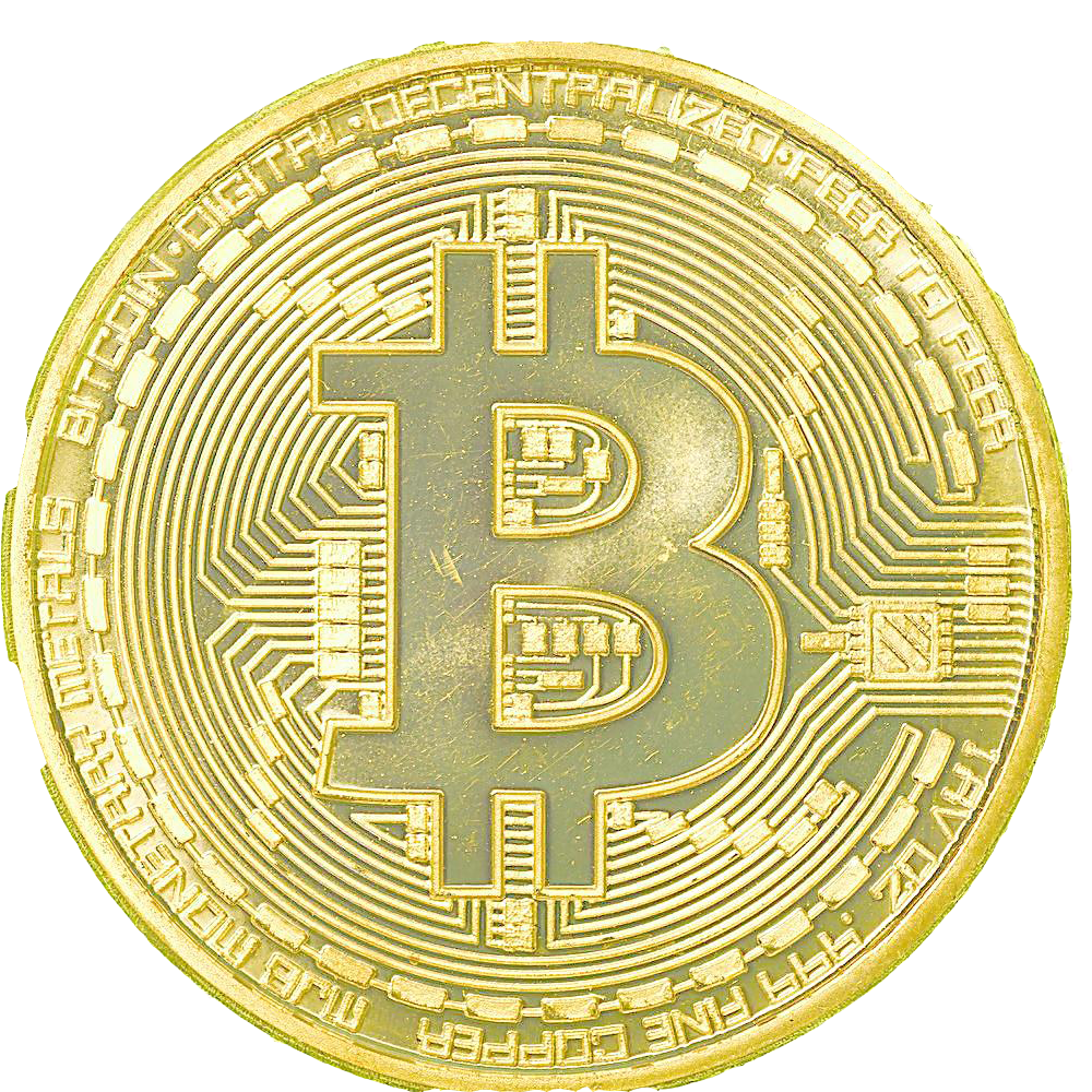 Collecting Plating Material Bitcoin Gold Free Download PNG HD PNG Image