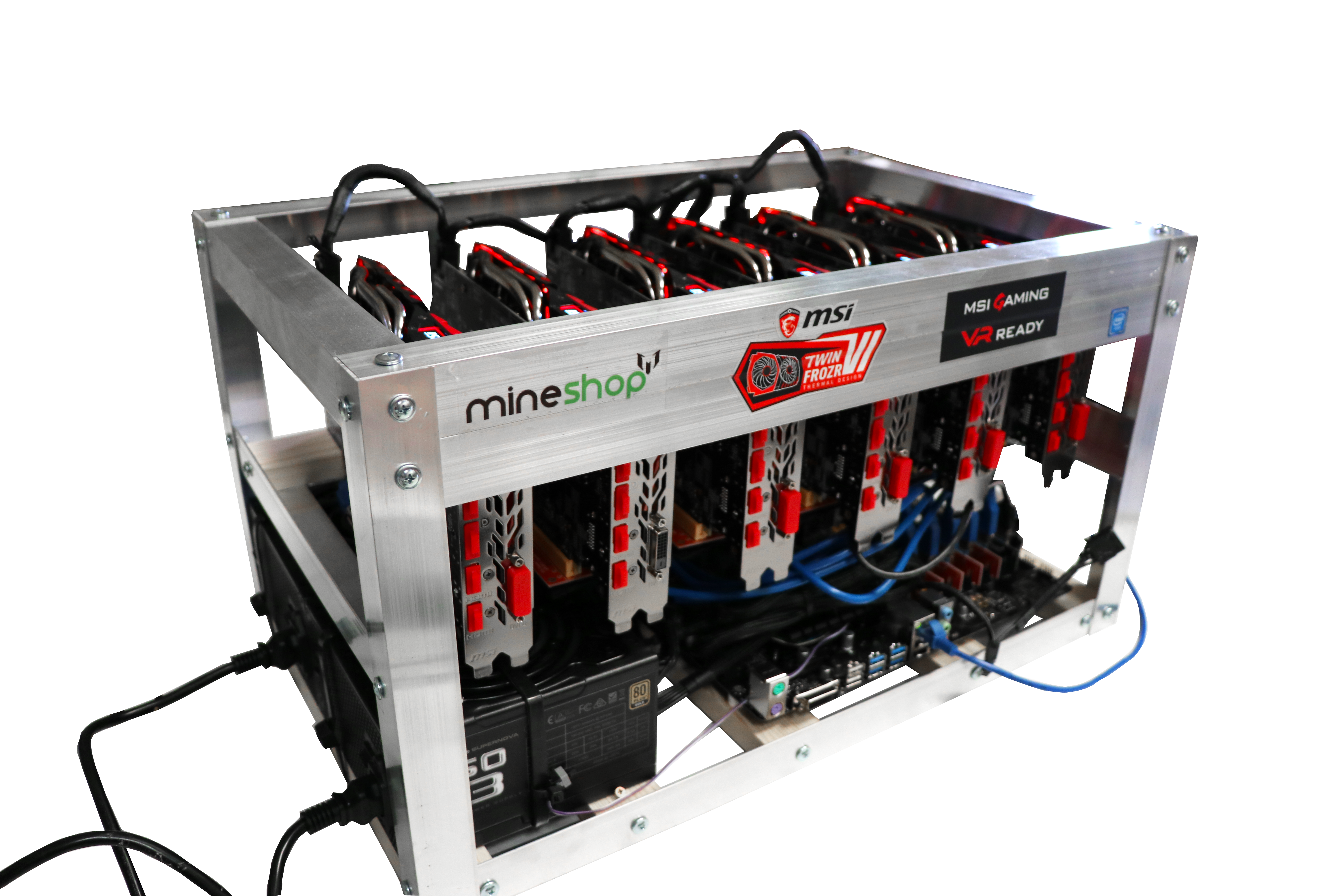 Cryptocurrency Rig Mining Ethereum Bitcoin Free Photo PNG PNG Image