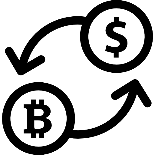 Business Exchange Icons Bitcoin Rate Computer PNG Image