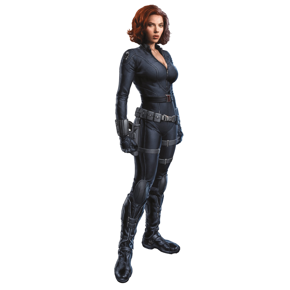 Black Widow Photo PNG Image