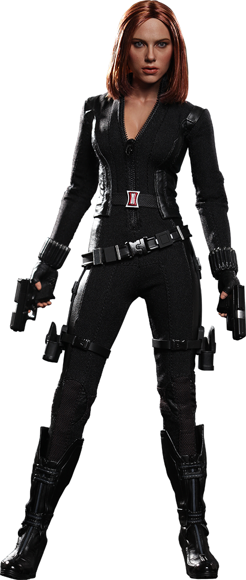 Black Widow Picture PNG Image