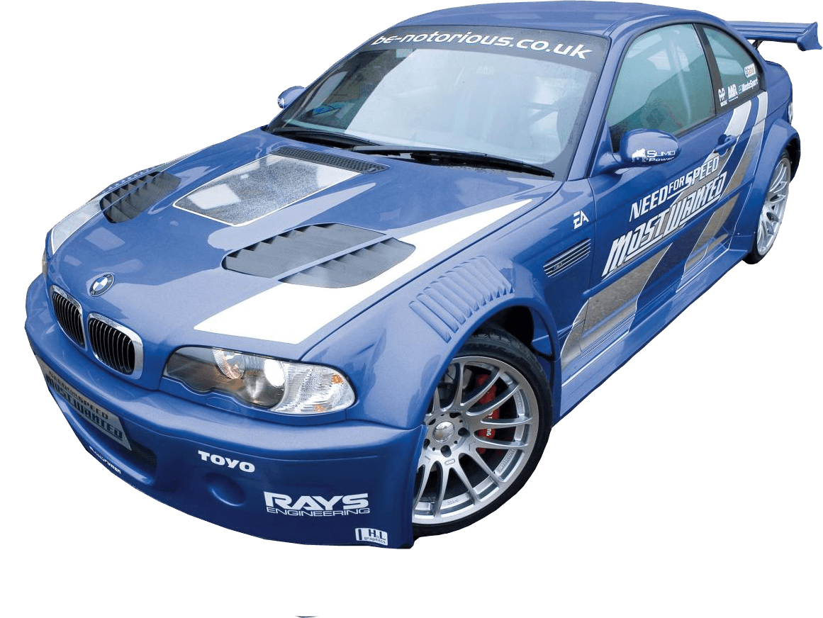 Blue Racing Bmw Png Image Download PNG Image