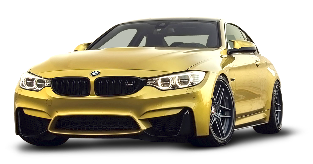 Gold Car M5 M4 Bmw M3 PNG Image