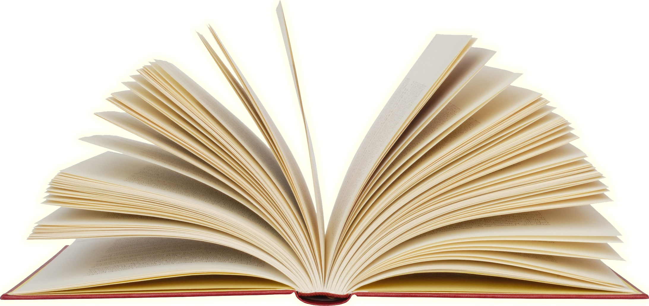 Open Book Transparent Background PNG Image