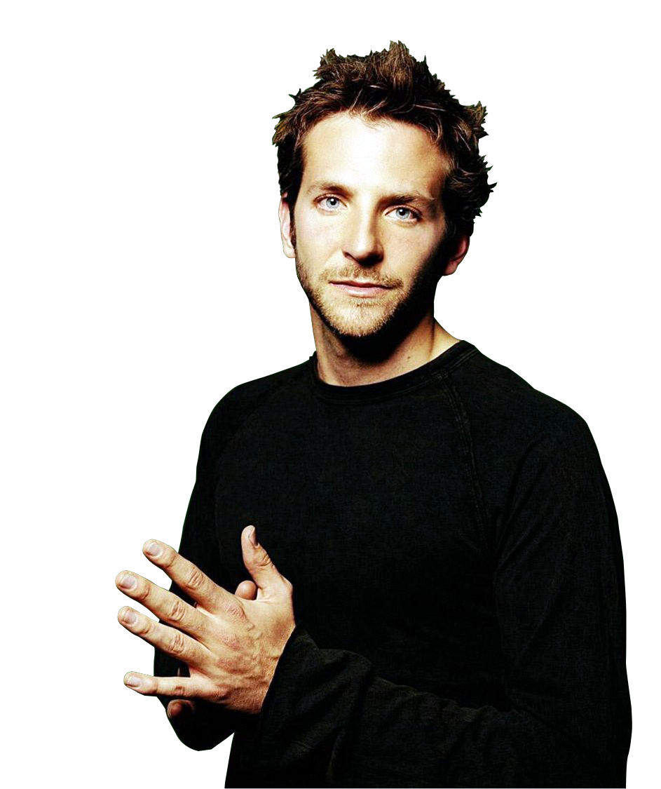 Bradley Cooper Clipart PNG Image