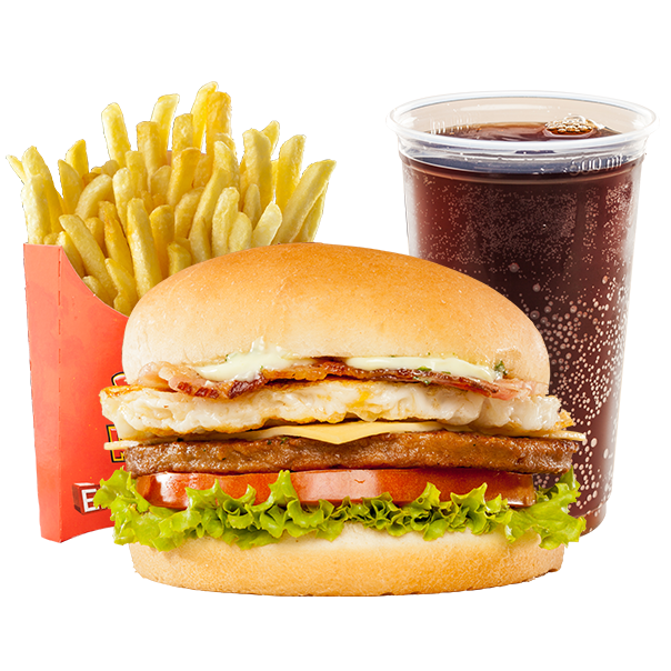 King Whopper Sandwich Mcdonald'S Fries Cheeseburger French PNG Image