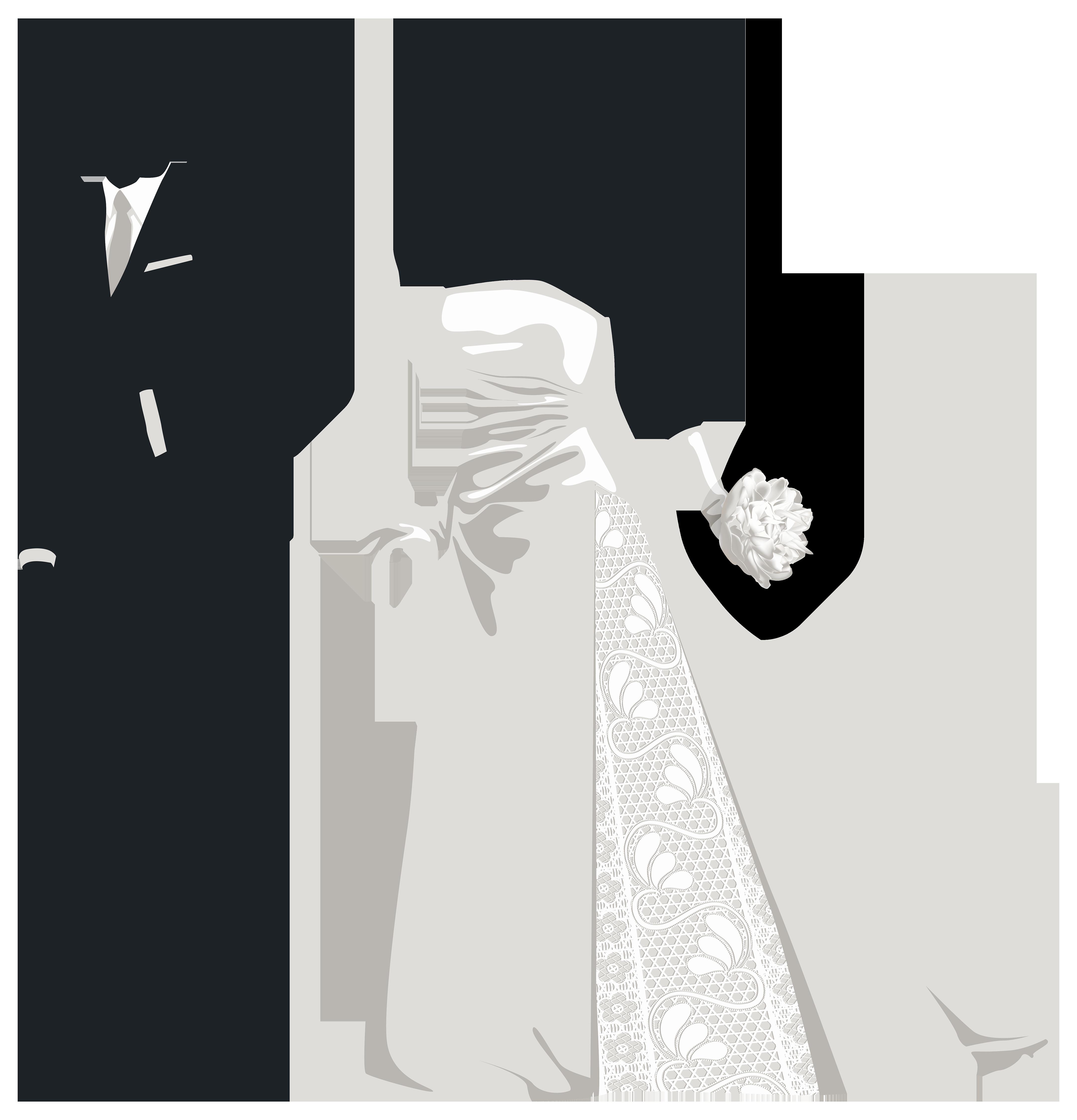 Именинами для, силуэты жениха и невесты для открытки