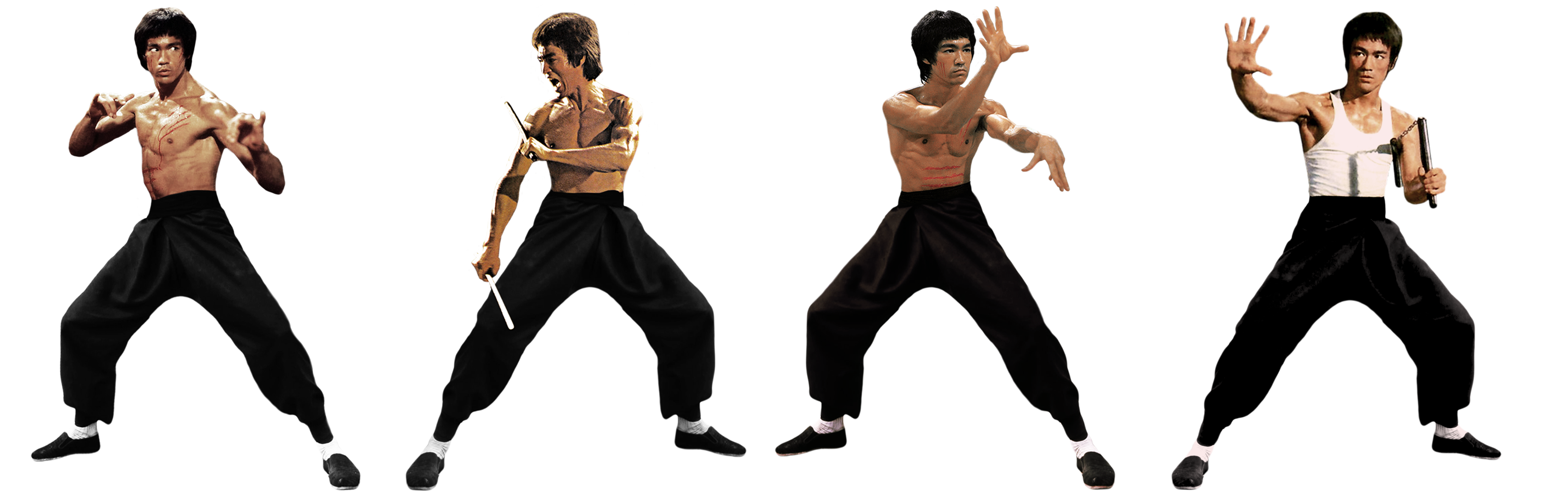 Bruce Lee Transparent Background PNG Image