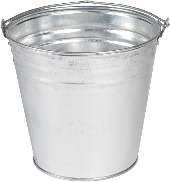 Metal Bucket File PNG Image