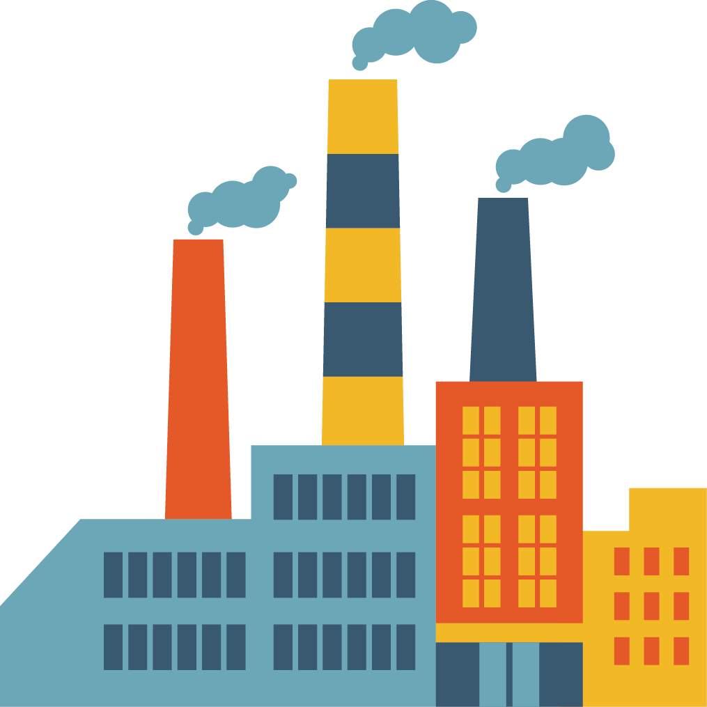 Download Factory Creative Vector Design Chimney Icon Hq Png