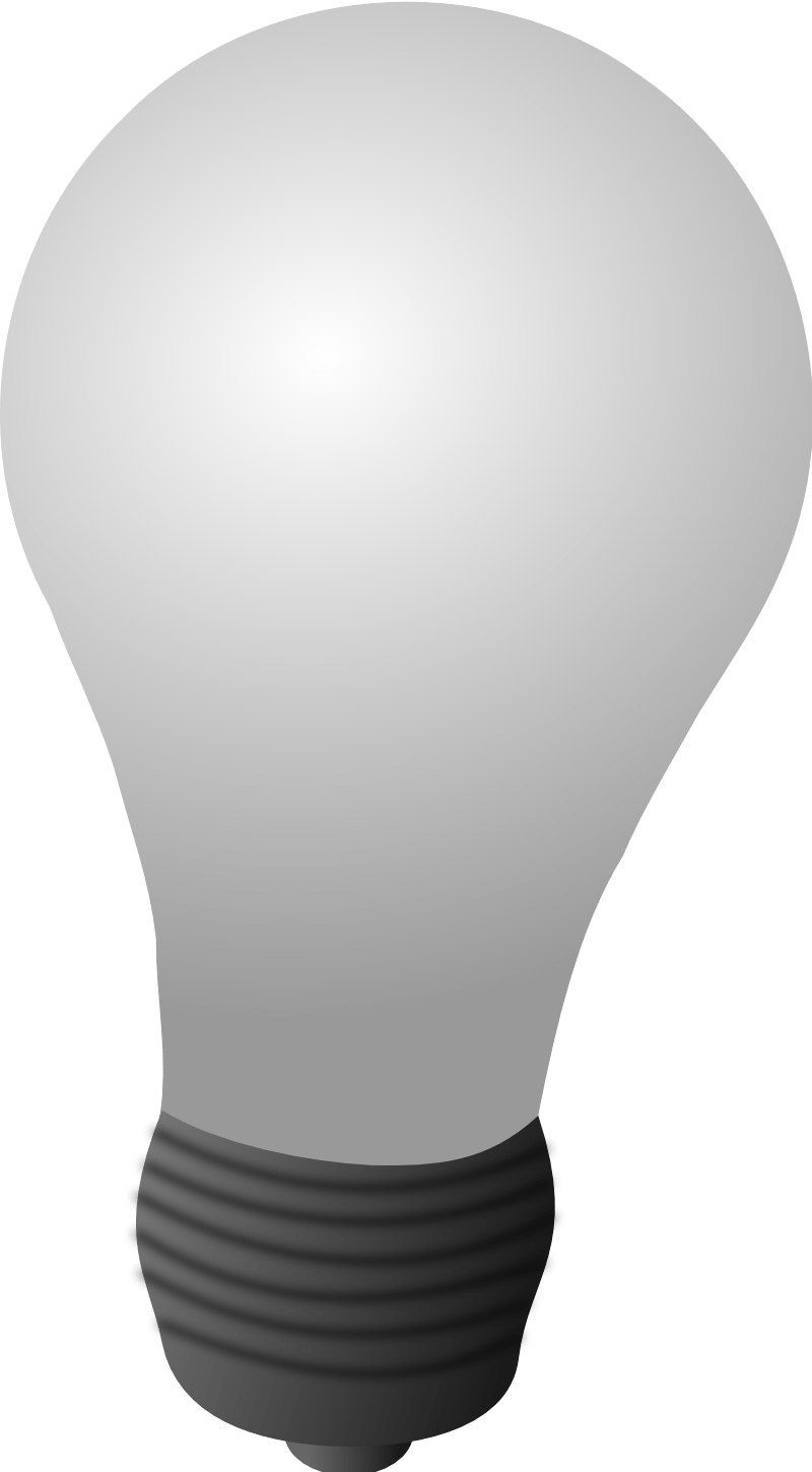 White Light Bulb Png Image PNG Image