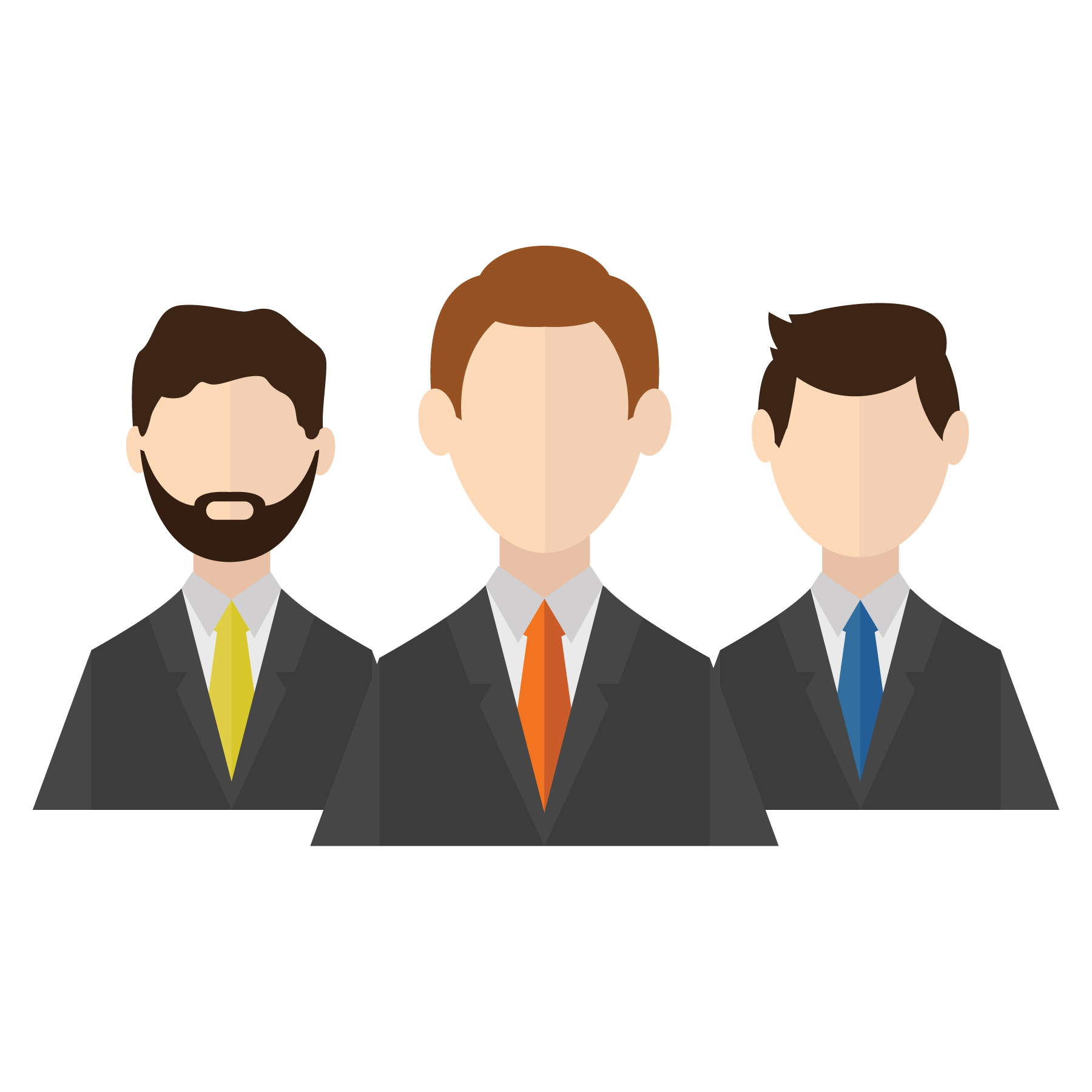 Vector Businessman Client Design Icon Free Frame PNG Image