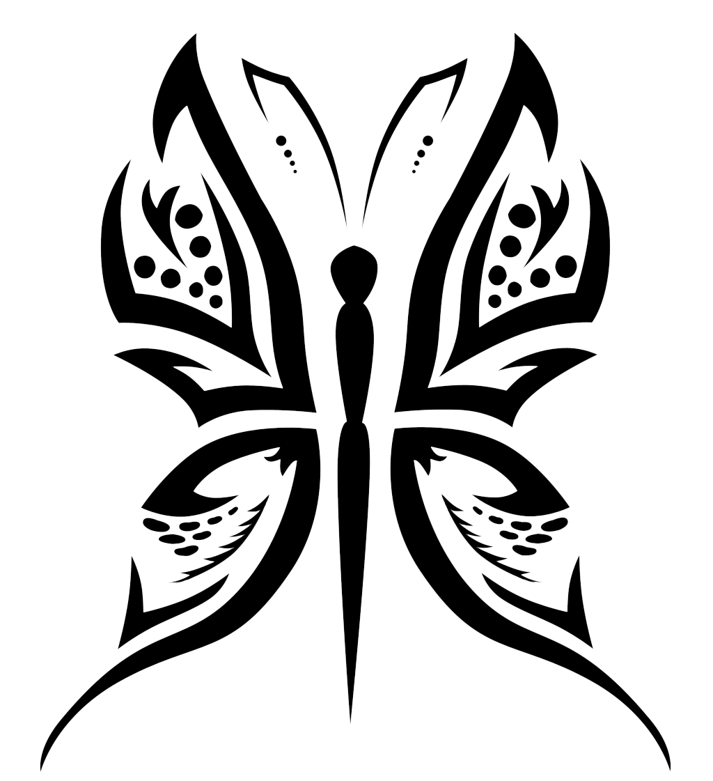 Butterfly Tattoo Designs Png Picture PNG Image