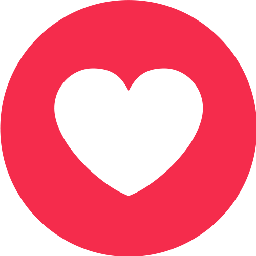 Emoticon Heart Love Like Media Button Live, PNG Image