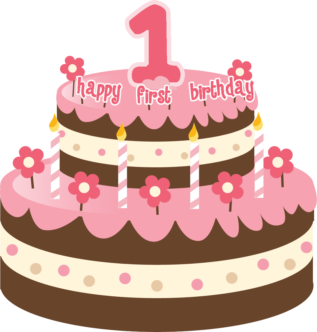 Birthday Cake Clipart PNG Image