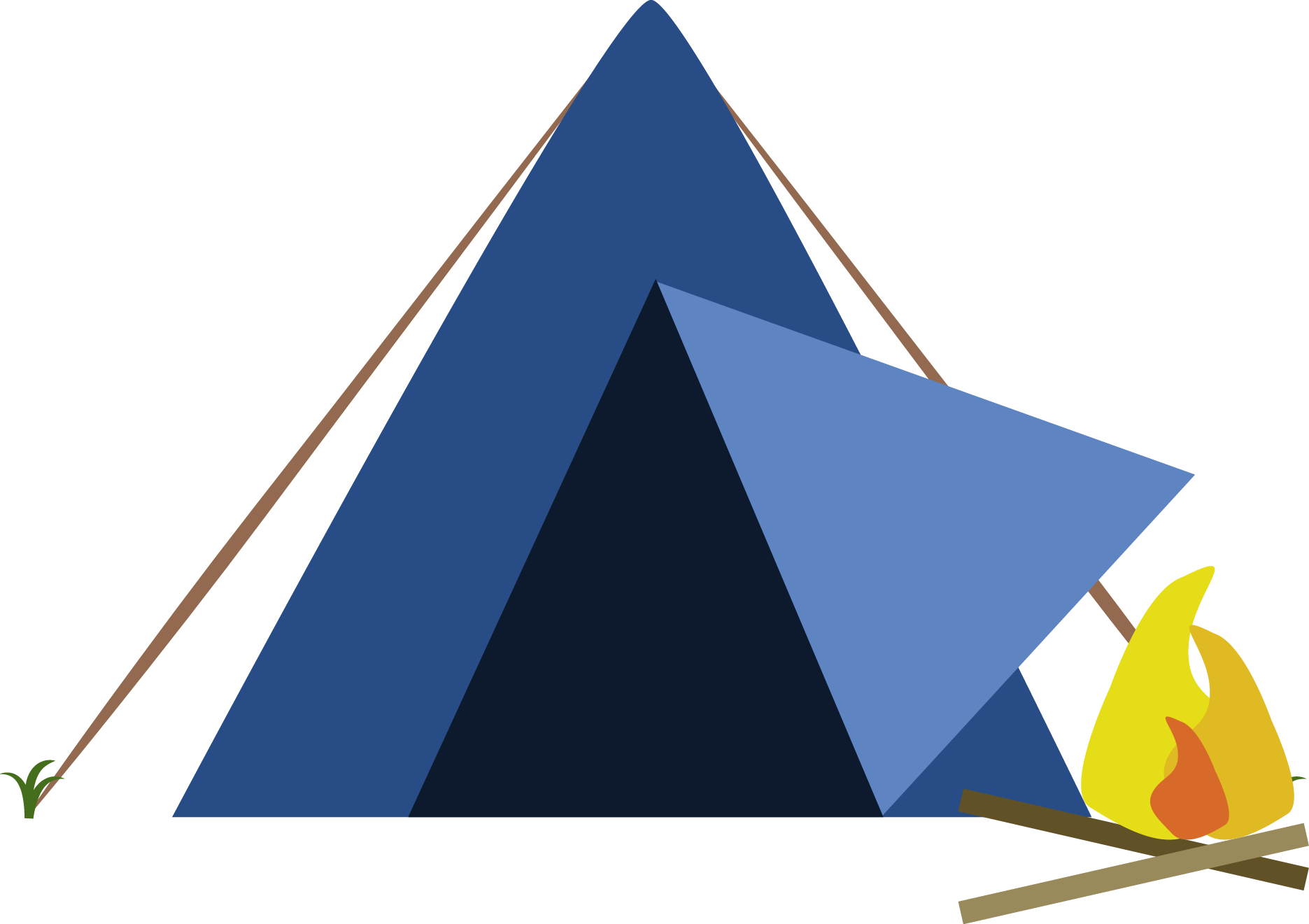 Campsite Hd PNG Image