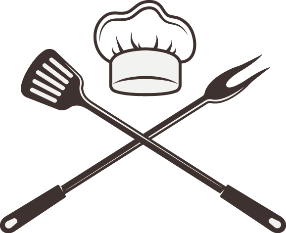 Material Scalable Chef Tableware Vector Graphics Barbecue PNG Image