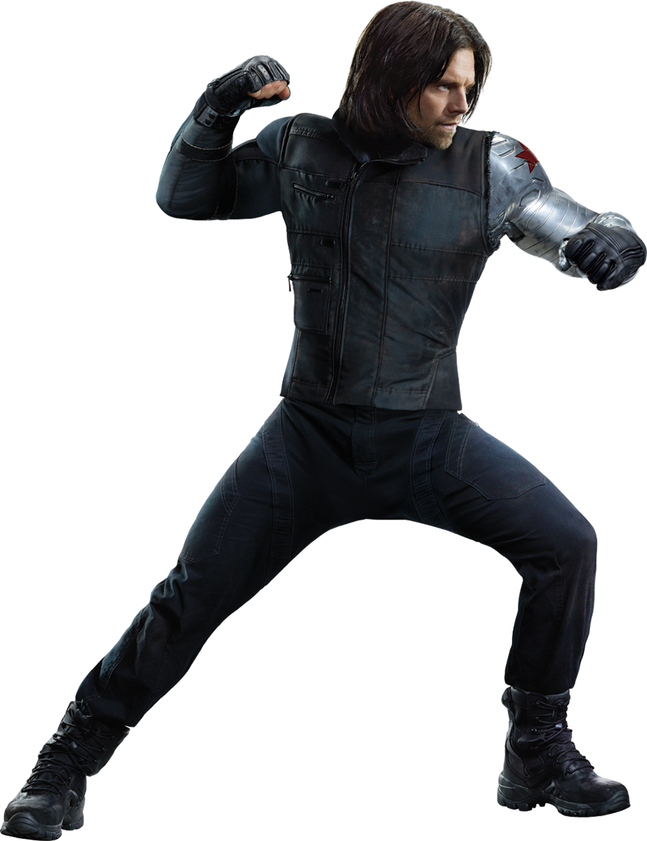 Winter Soldier Bucky Image PNG Image