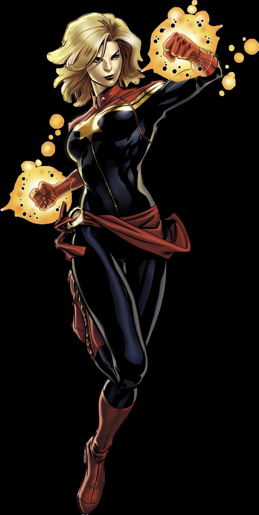 Download Captain Marvel Transparent Background HQ PNG Image | FreePNGImg
