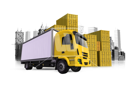 Cargo Truck Png Clipart PNG Image