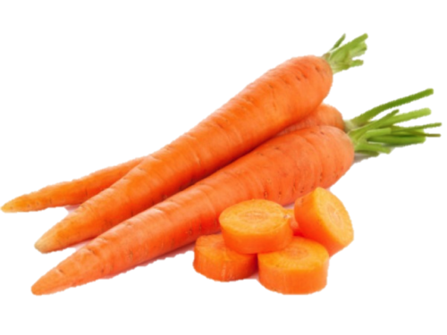 Carrot Cutting Pieces PNG Image