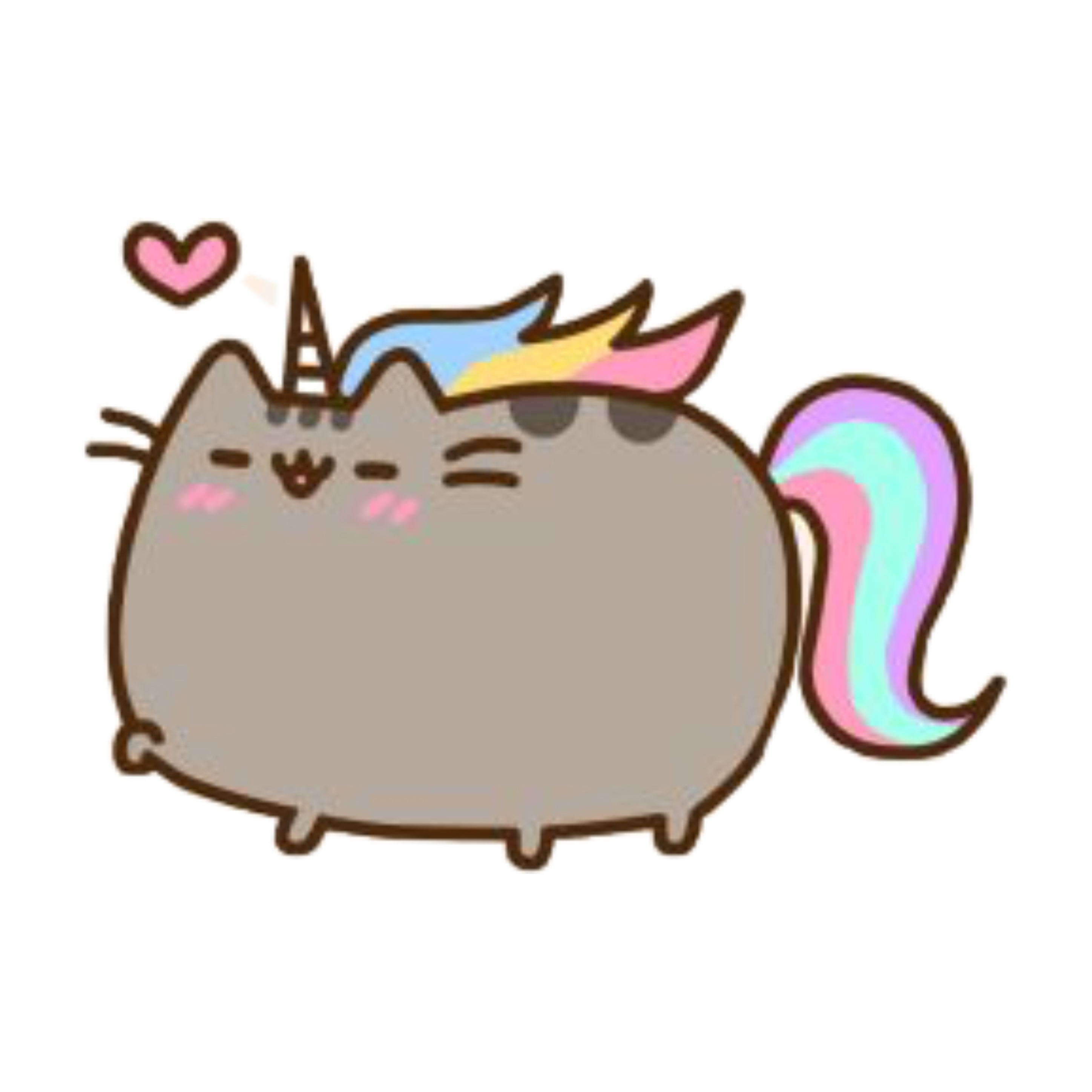 Pink Mammal Pusheen Cat PNG Free Photo PNG Image