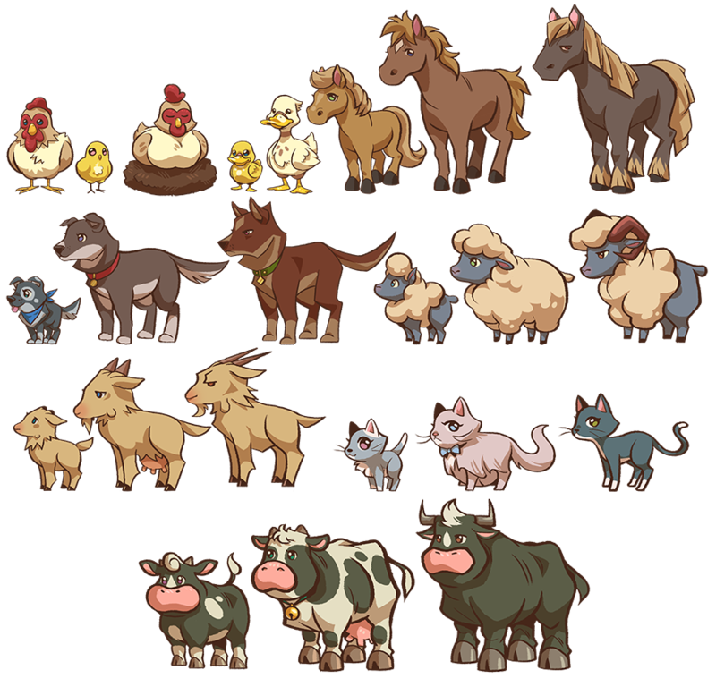 Wildlife Animals Livestock Farm Games Animal Learn PNG Image
