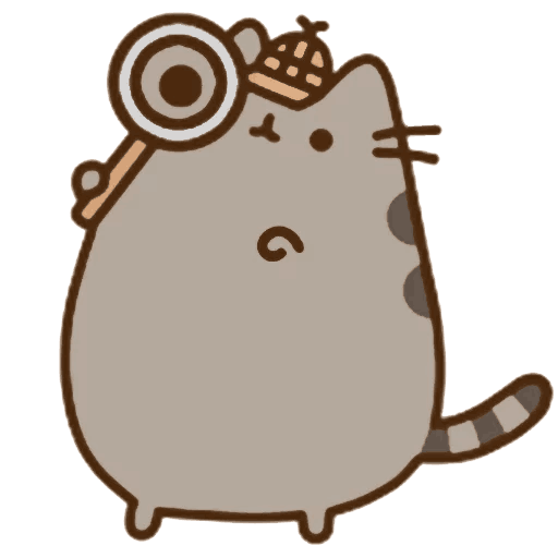 Detective Rodent Pusheen Carnivoran Cat Download HD PNG PNG Image