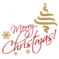 Merry Christmas Text Image