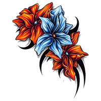 Flower Tattoo Image