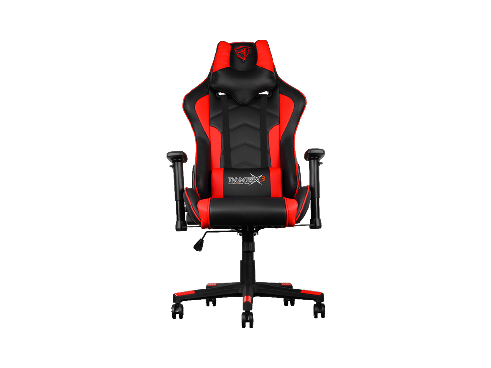 Gaming Chair Black Red Seat Free HD Image PNG Image