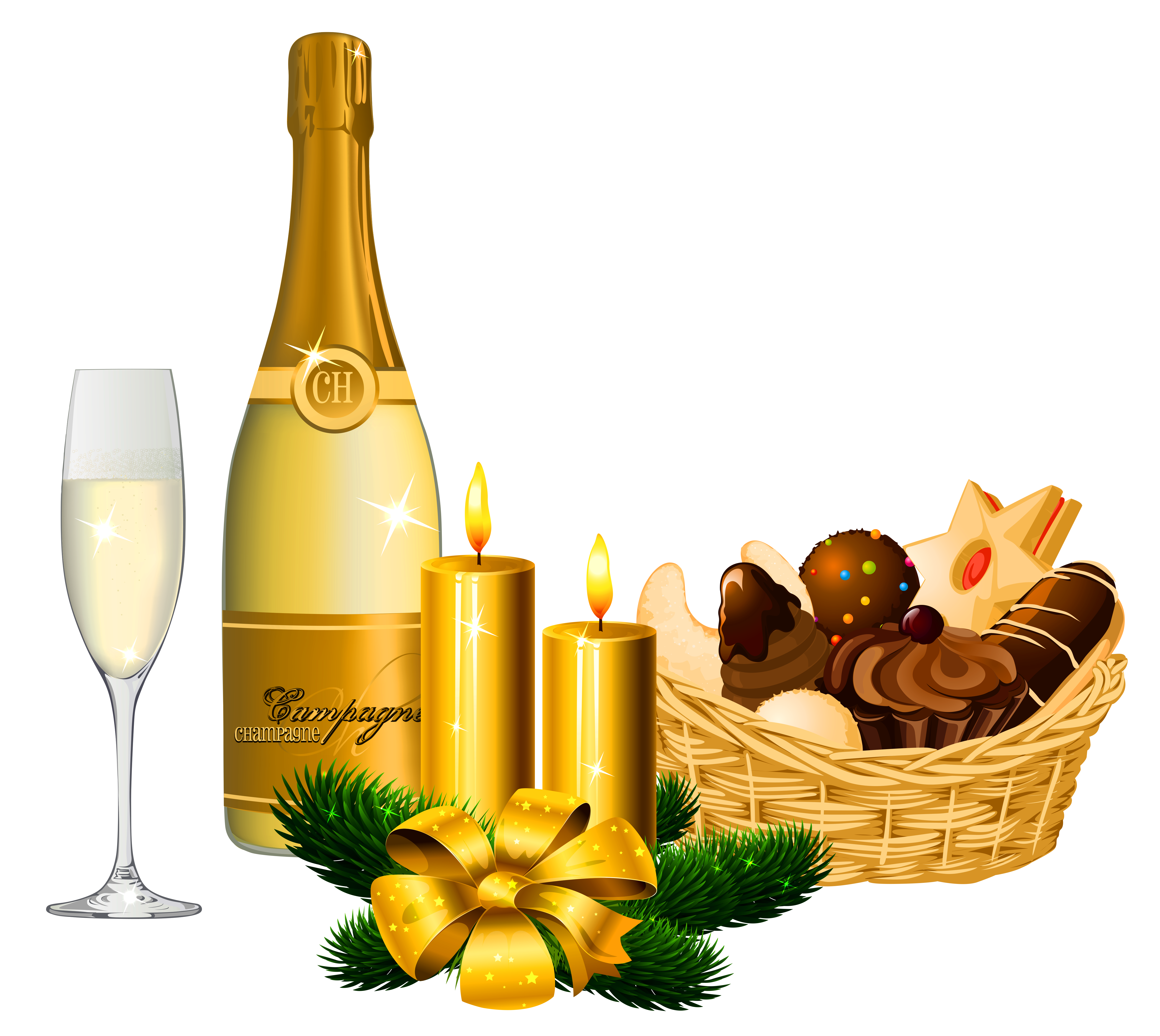 Champagne Png Pic PNG Image