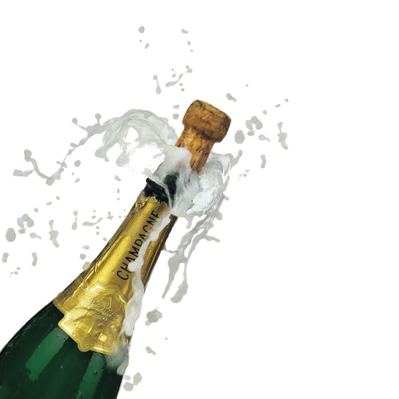 Открытки бутылки шампанского