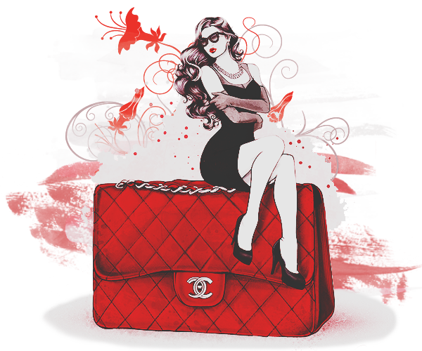 Vuitton Fashion Louis Illustration Handbag Chanel PNG Image