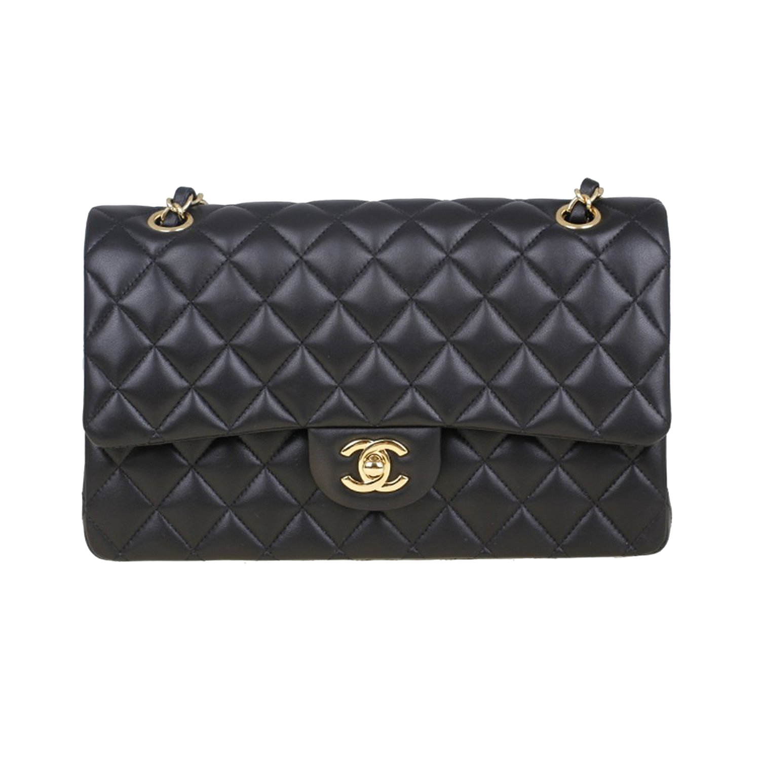 Fashion Bag Moschino Black Handbag Lingge Chanel PNG Image