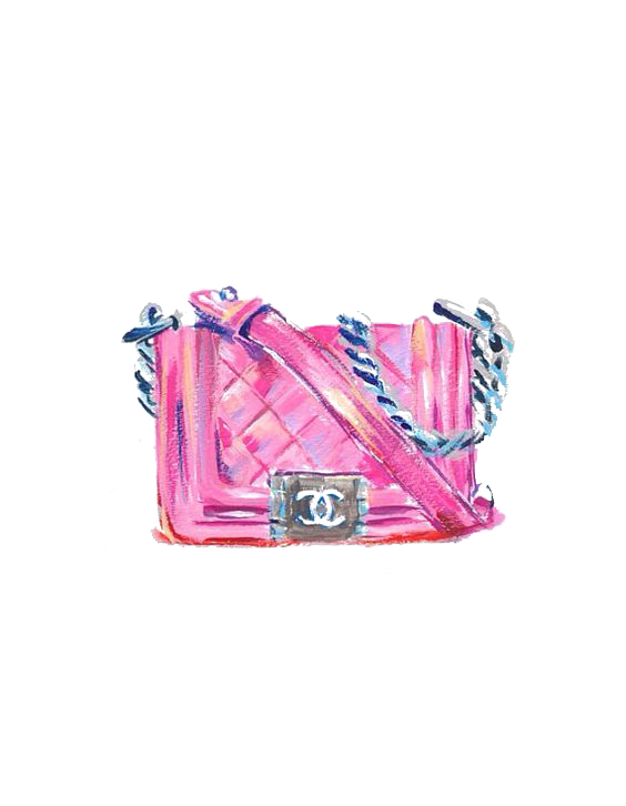 Coco Bag No. Chanel Cushion Free Frame PNG Image