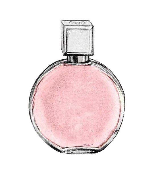 Coco Watercolor No. Chanel Perfume Free PNG HQ PNG Image