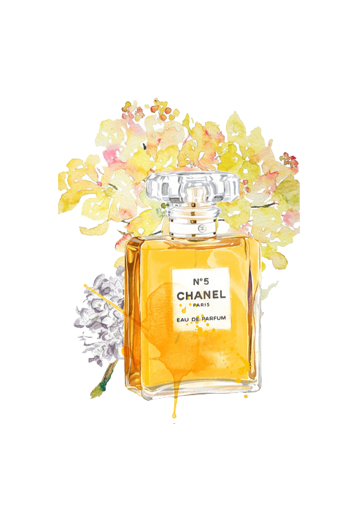 Coco No. Chanel Bottle Perfume Free Download PNG HD PNG Image