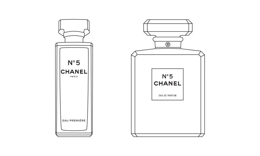 Glass No. Chanel Bottle Perfume PNG Download Free PNG Image