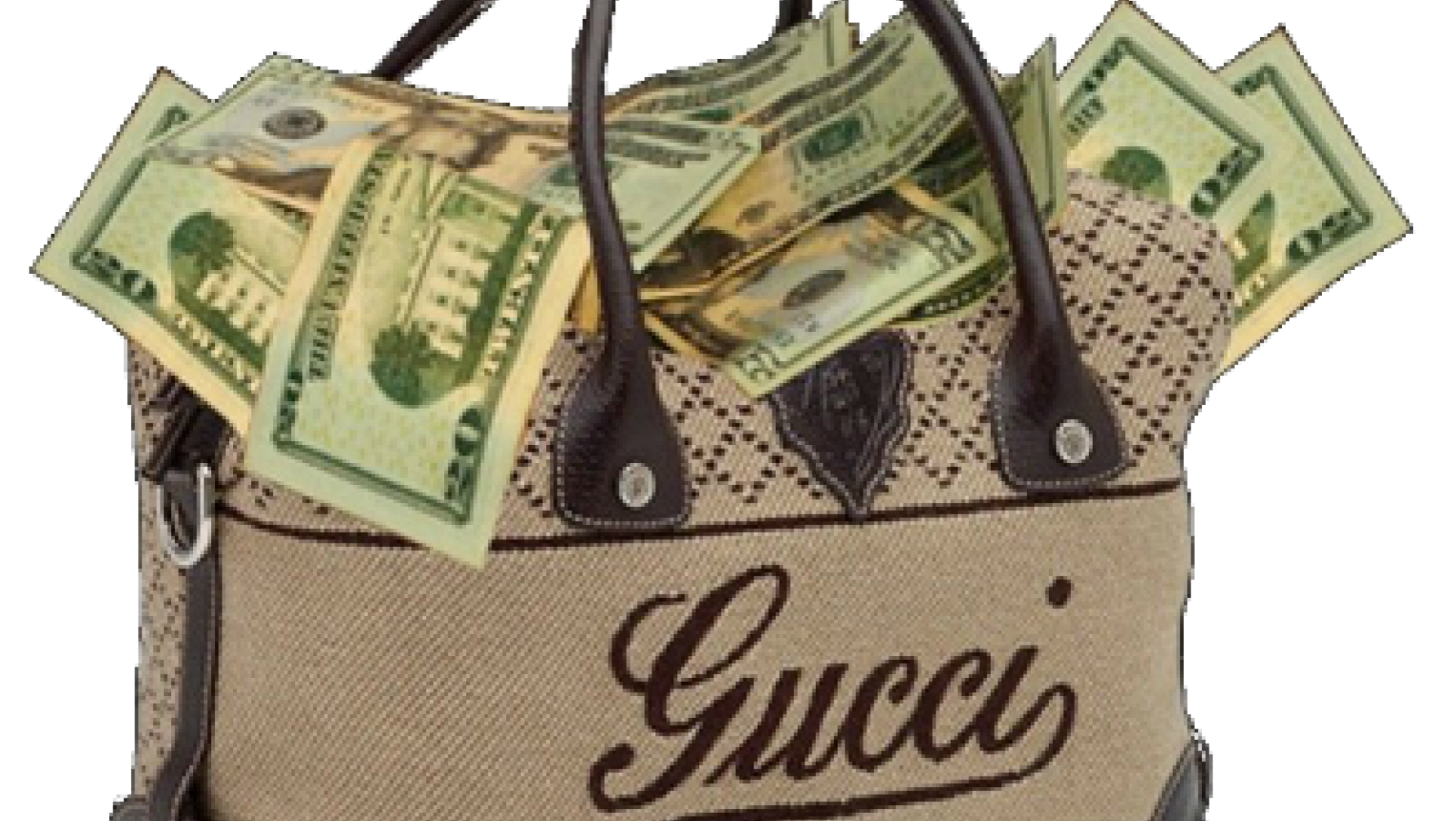 Money Gucci Fashion Bag Free Transparent Image HD PNG Image