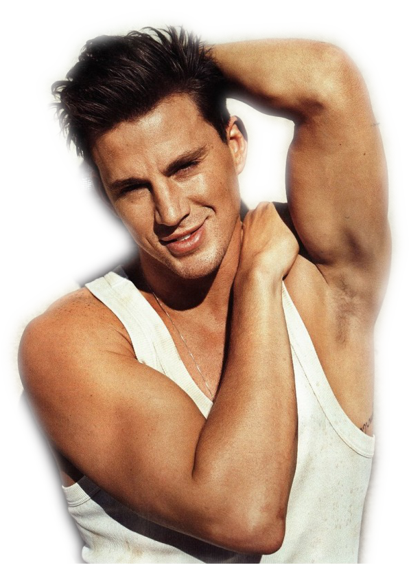Channing Tatum Transparent Background PNG Image