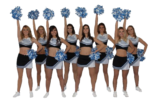 Cheerleader Transparent PNG Image