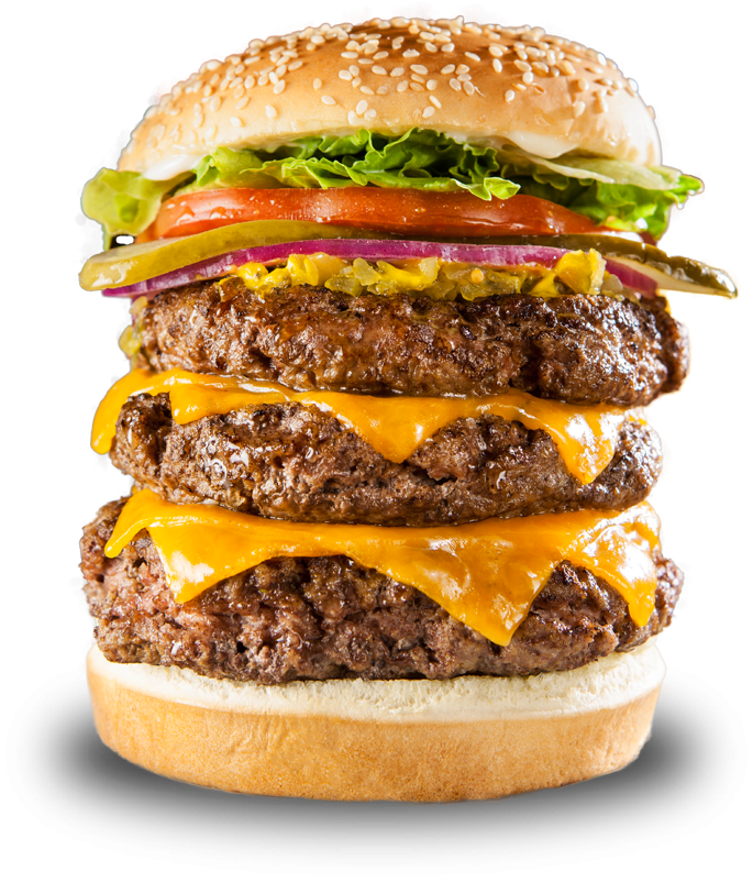 Cheese Hamburger Restaurant Veggie Fatburger Burger King PNG Image