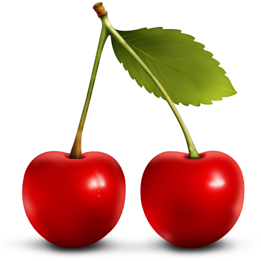 Cherry Vector Transparent Image PNG Image