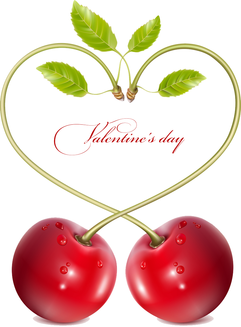 Cherry Vector PNG Image