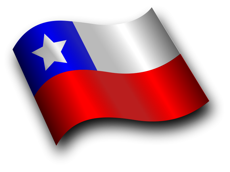 Chile Flag Png Hd PNG Image