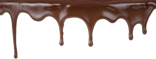 Melted Chocolate Clipart PNG Image