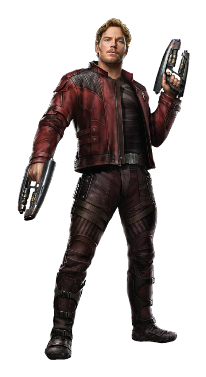 Figure Of Action Pratt Figurine Starlord Chris PNG Image